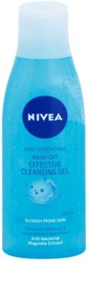 Nivea Visage Pure Effect čisticí gel