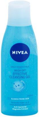 Nivea Visage Pure Effect gel limpiador