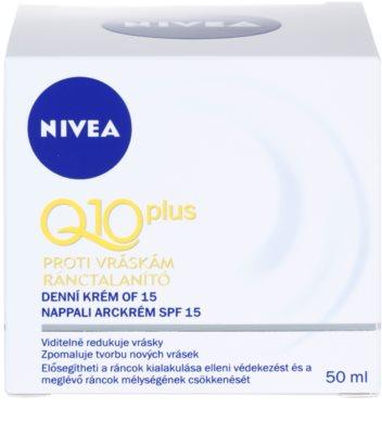 Nivea Visage Q10 Plus денний крем для нормальної та сухої шкіри 1