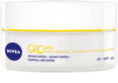 Nivea Visage Q10 Plus дневен крем  за нормална към суха кожа