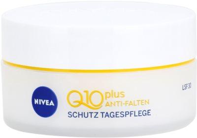 Nivea Visage Q10 Plus дневен предпазващ крем  против бръчки