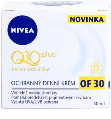 Nivea Visage Q10 Plus ochronny krem  na dzień przeciw zmarszczkom 2