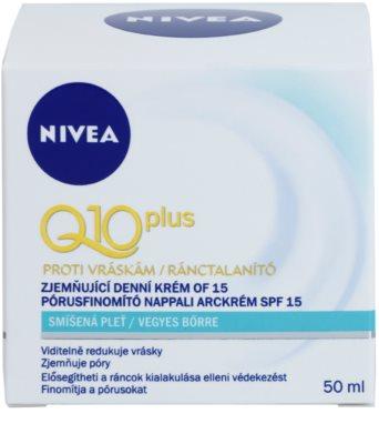 Nivea Visage Q10 Plus denní krém pro smíšenou pleť 2
