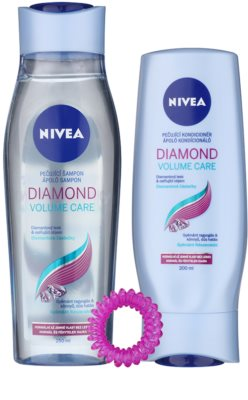 Nivea Diamond Volume Care косметичний набір I.