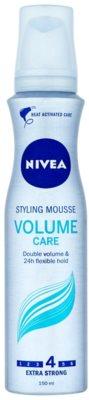Nivea Volume Sensation penasti utrjevalec za lase za povečanje volumna
