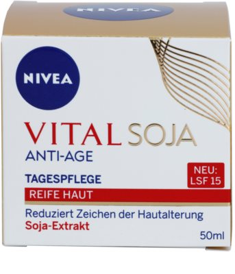 Nivea Visage Vital Multi Active nappali krém a ráncok ellen 2
