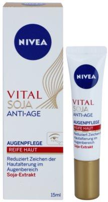 Nivea Visage Vital Multi Active crema para contorno de ojos antiarrugas 1
