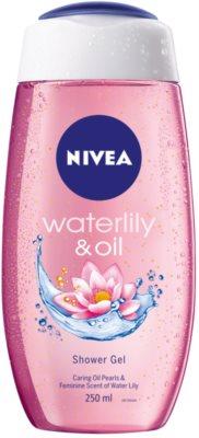 Nivea Waterlily & Oil gel de dus energizant