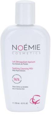Noémie Cosmetics Cleansing leite de limpeza calmante para pele seca a sensível