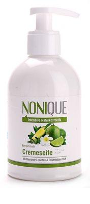 Nonique Hydration jabón hidratante con textura crema