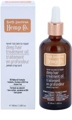 North American Hemp Co. Repair regenerierende Pflege für trockenes und beschädigtes Haar 1