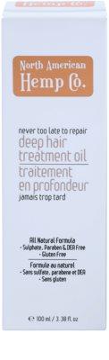 North American Hemp Co. Repair regenerierende Pflege für trockenes und beschädigtes Haar 2