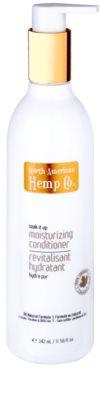 North American Hemp Co. Soak It Up feuchtigkeitsspendender Conditioner für trockenes und zerbrechliches Haar
