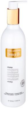 North American Hemp Co. Volumega condicionador para dar volume desde a raiz