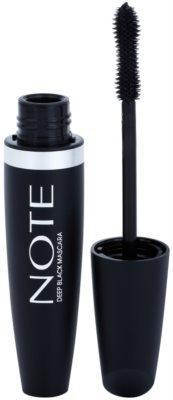 NOTE Cosmetics Deep Black maskara za podaljšanje z vitaminom E
