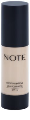 NOTE Cosmetics Mattifying Extreme maquillaje matificante SPF 15