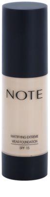 NOTE Cosmetics Mattifying Extreme matující make-up SPF 15