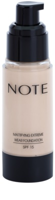 NOTE Cosmetics Mattifying Extreme maquillaje matificante SPF 15 1
