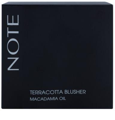 NOTE Cosmetics Terracotta puder brązujący 2