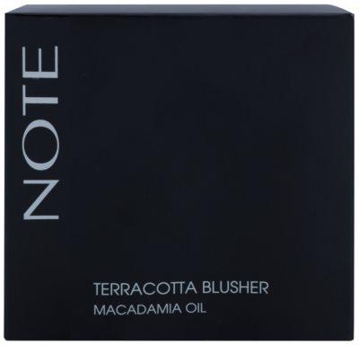 NOTE Cosmetics Terracotta bronzosító arcpír 2