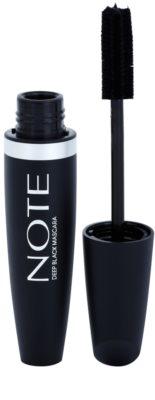 NOTE Cosmetics Ultra Volume máscara para dar o máximo de volume