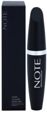 NOTE Cosmetics Ultra Volume máscara para dar o máximo de volume 2