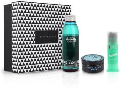 Notino Fuente inagotable de energía Cuidado complejo y energizante para cabello y piel para hombres