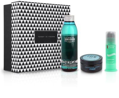 Notino Nieskończona energia kompleksowa pielęgnacja na włosy i skórę dla mężczyzn