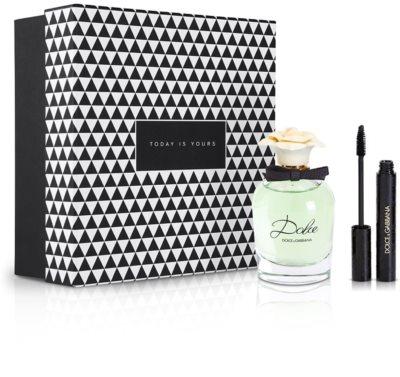 Notino Duo inseparabil arome proaspete și minunate care inspiră orice femeie + rimel negru pentru gene intense