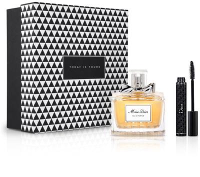 Notino Po prostu Chic wyjątkowy, elegancki zapach dla eleganckiej kobiety + tusz do rzęs do uzyskania gęstych i pogrubionych rzęs
