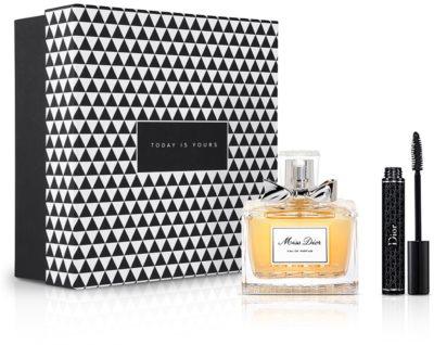 Notino Simplesmente chique fragrância únicapara mulheres elegantes + rímel para pestanas mais espessas e intensas