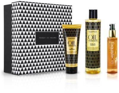 Notino Puterea uleiurilor naturale Set cadou Matrix pentru toate tipurile de păr