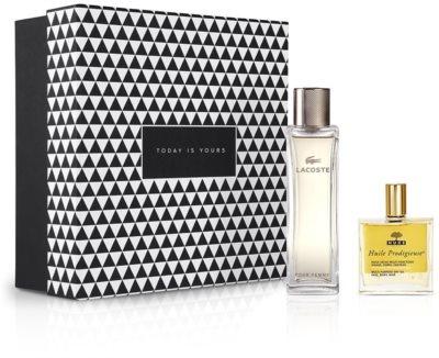 Notino Закон привабливості привабливий аромат для сучасної жінки + натуральна багатофункціональна суха  олійка для догляду за  волоссям та шкірою обличчя