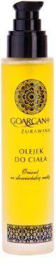 Nova Kosmetyki GoArgan+ Cranberry óleo regenerativo creme SOS 1