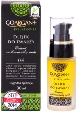 Nova Kosmetyki GoArgan+ Oat Sprouts hidratáló olaj a száraz és irritált bőrre 2