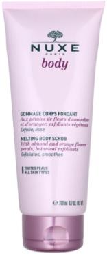 Nuxe Body gel de ducha exfoliante para todo tipo de pieles