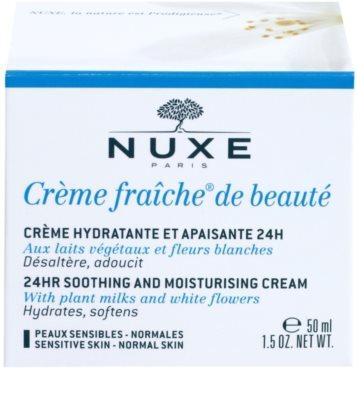 Nuxe Creme Fraîche de Beauté crema calmanta si hidratanta pentru piele normala predispusa la iritatii 2