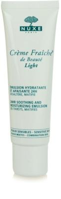 Nuxe Creme Fraîche de Beauté nyugtató és hidratáló emulzió kombinált bőrre