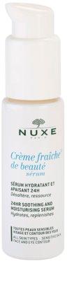 Nuxe Creme Fraîche de Beauté nyugtató és hidratáló szérum minden bőrtípusra, beleértve az érzékeny bőrt is