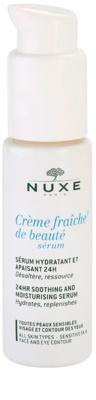 Nuxe Creme Fraîche de Beauté serum hidratante y calmante apto para pieles sensibles