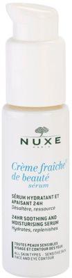 Nuxe Creme Fraîche de Beauté заспокоююча та зволожуюча сироватка для всіх типів шкіри навіть чутливої