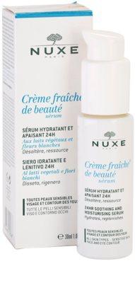 Nuxe Creme Fraîche de Beauté serum hidratante y calmante apto para pieles sensibles 2