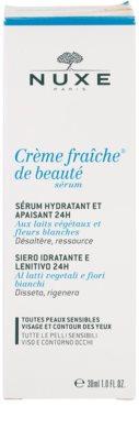 Nuxe Creme Fraîche de Beauté serum hidratante y calmante apto para pieles sensibles 3