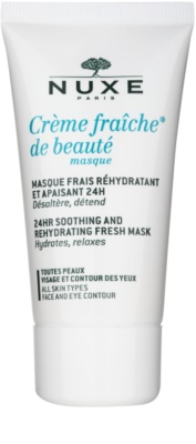 Nuxe Creme Fraîche de Beauté masca calmanta si hidratanta pentru toate tipurile de ten