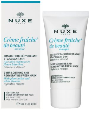 Nuxe Creme Fraîche de Beauté zklidňující a hydratační maska pro všechny typy pleti 1