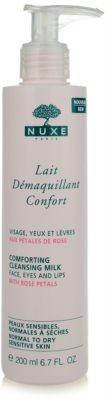 Nuxe Cleansers and Make-up Removers mleczko oczyszczajace do skóry normalnej i suchej