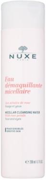 Nuxe Cleansers and Make-up Removers micelláris tisztító víz az érzékeny arcbőrre és szemekre