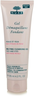 Nuxe Cleansers and Make-up Removers gel de limpeza para pele normal a mista