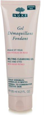 Nuxe Cleansers and Make-up Removers żel oczyszczający do cery normalnej i mieszanej