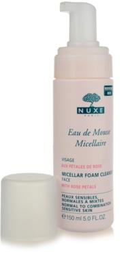 Nuxe Cleansers and Make-up Removers čisticí pěna pro normální až smíšenou pleť 1
